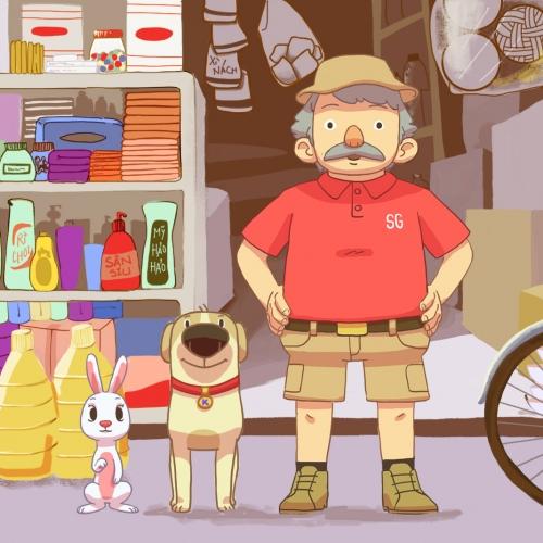 Bác Sago và những người bạn