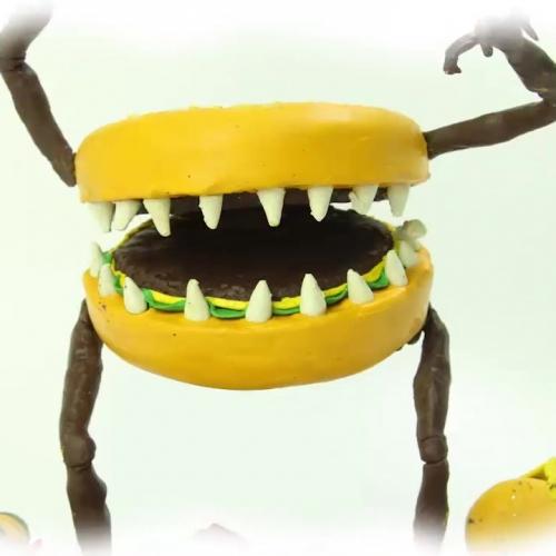 [Xin chào bút chì] - Season 4 - Tập phim: Quái vật Hamburger