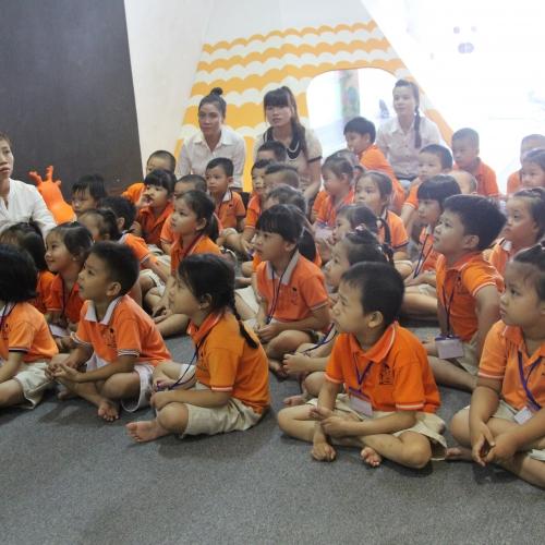 [SHOOL TOUR] – Trường mầm non Ngôi Sao Việt - Tháng 08/2015.